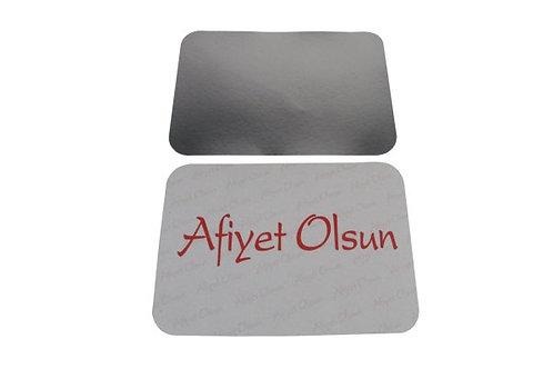 Alüminyum Kapak 1500 Gr - Bölmeli
