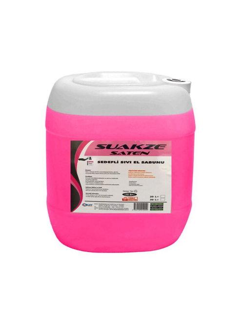 Suakze Saten Sedefli Sıvı El Sabunu 30 Kg
