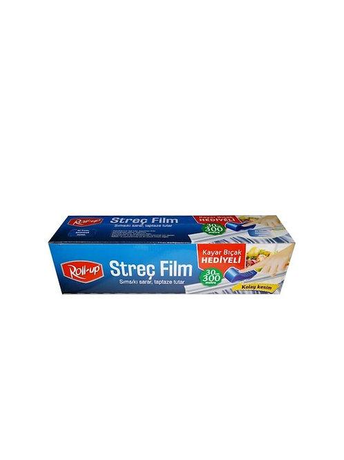 Roll-Up Streç Film Kayar Bıçaklı