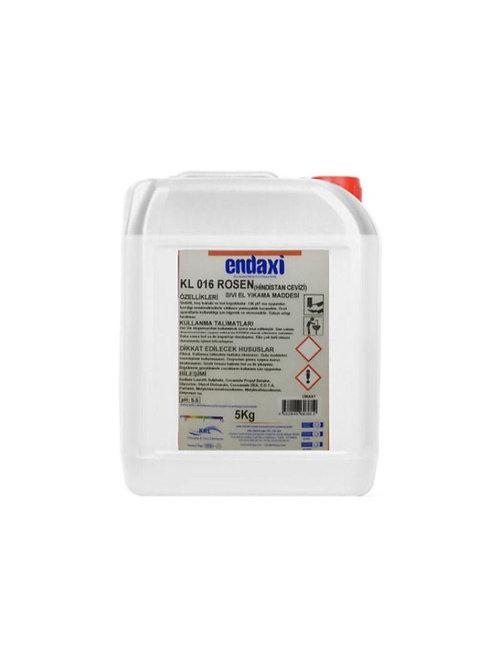 Endaxi Kl 016 Rosen Sıvı El Sabunu (Hindistan Cevizi) 5 Kg