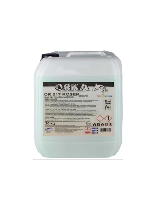 Orka Or 017 Rosen Sıvı El Yıkama Maddesi 20 Kg