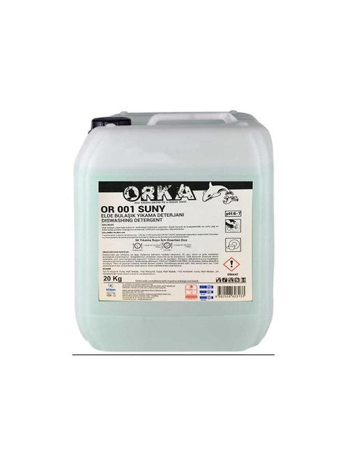 Orka Or 001 Suny Elde Bulaşık Deterjanı 20 Kg