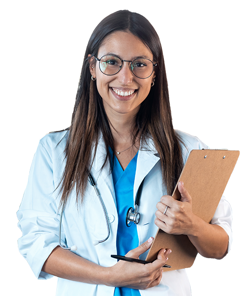 happy-young-female-doctor-smiling-and-lo