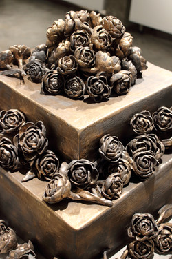 Reliquary (detail of flowers)