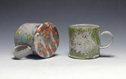 fox and bear mugs