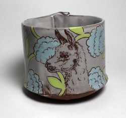 alpaca round bottomed cup