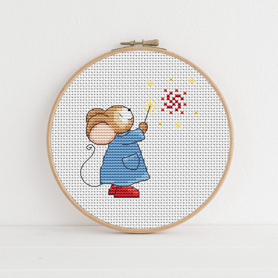 A Cross-Stitch in Time