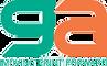 GA Printing logo with tagline moving print forwad