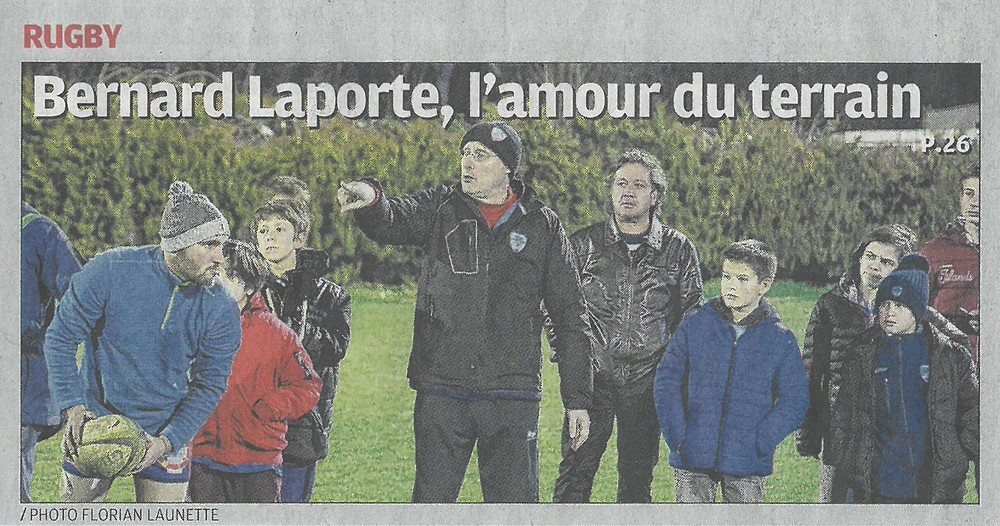 Bernard Laporte, FFR - RC STADE PHOCEEN