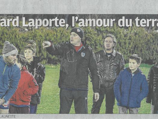 Bernard Laporte, l'amour du terrain