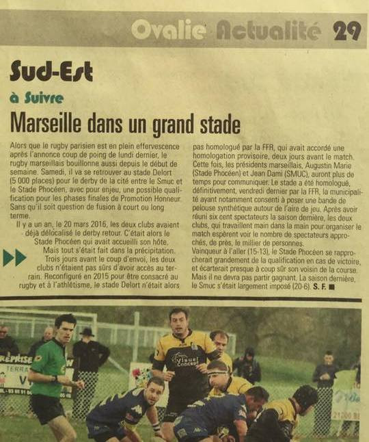 Midi Olympique - RC Stade Phoceen