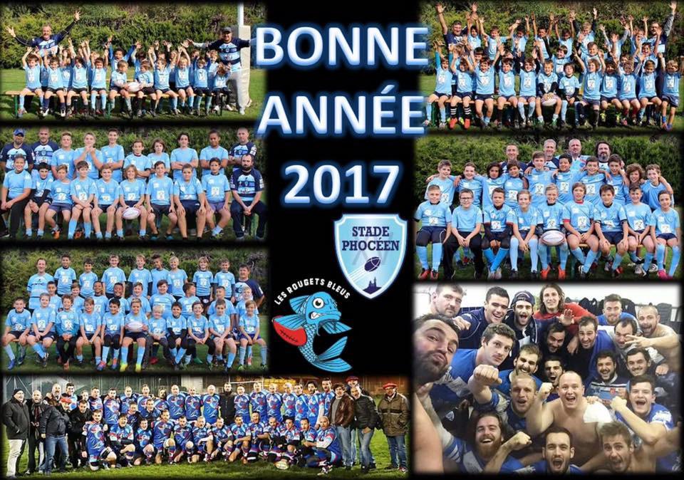 Bonne année 2017 - RC STADE PHOCEEN