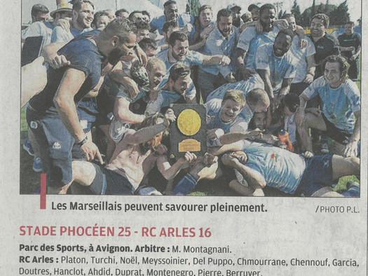 Le Stade Phoceen un cran au-dessus - La Provence