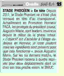 RC Stade Phoceen - Midi Olympique
