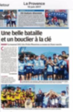 Tournoi de Petits Phoceens - La Provence