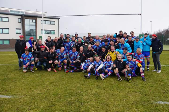 RC Stade Phoceen - Rougets Bleus en Ecosse