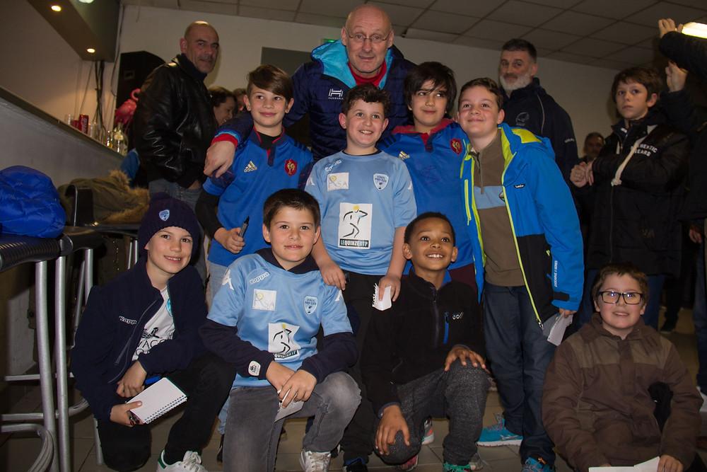 Ecole de Rugby RC STADE PHOCEEN, Bernard Laporte, FFR