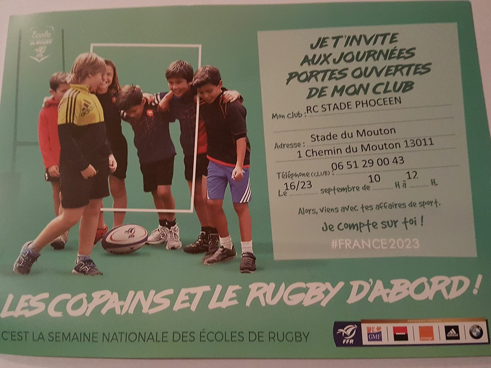 RC Stade Phoceen - portes ouvertes