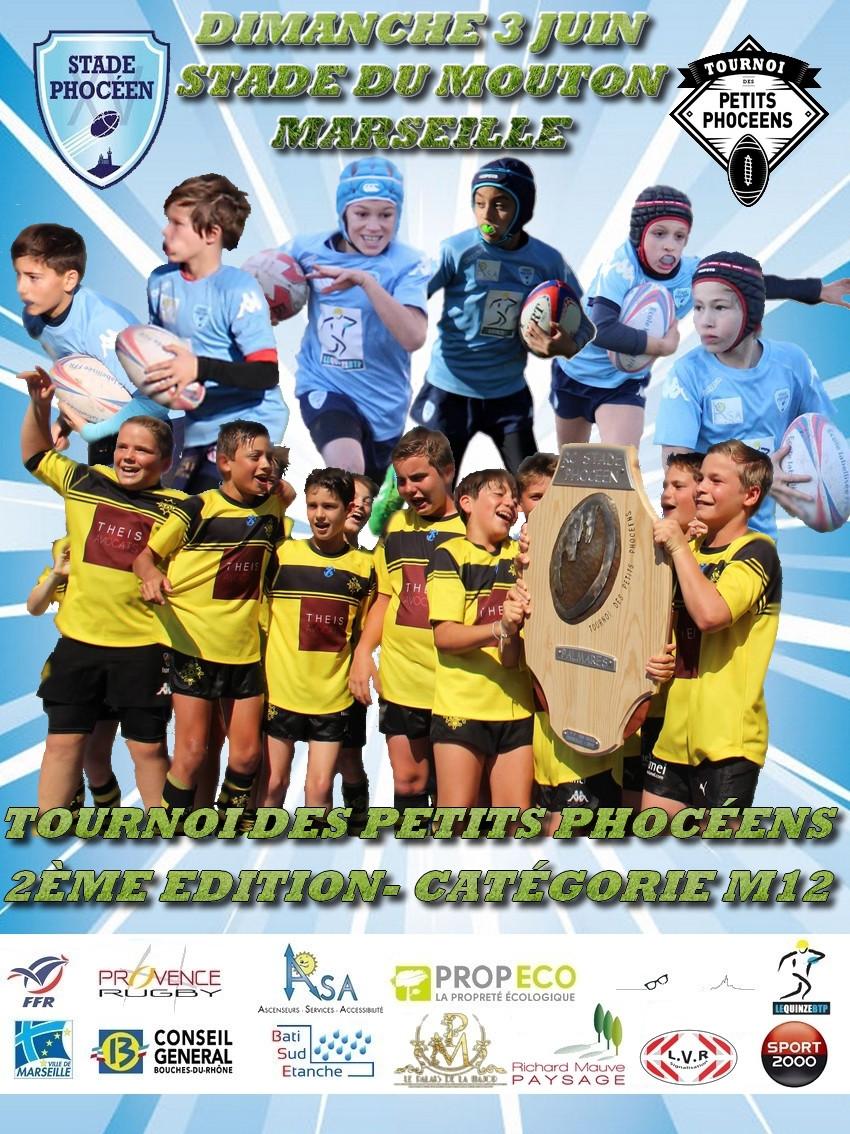 Tournoi international de Rugby des Petits Phocéens - M12 - RC Stade Phoceen