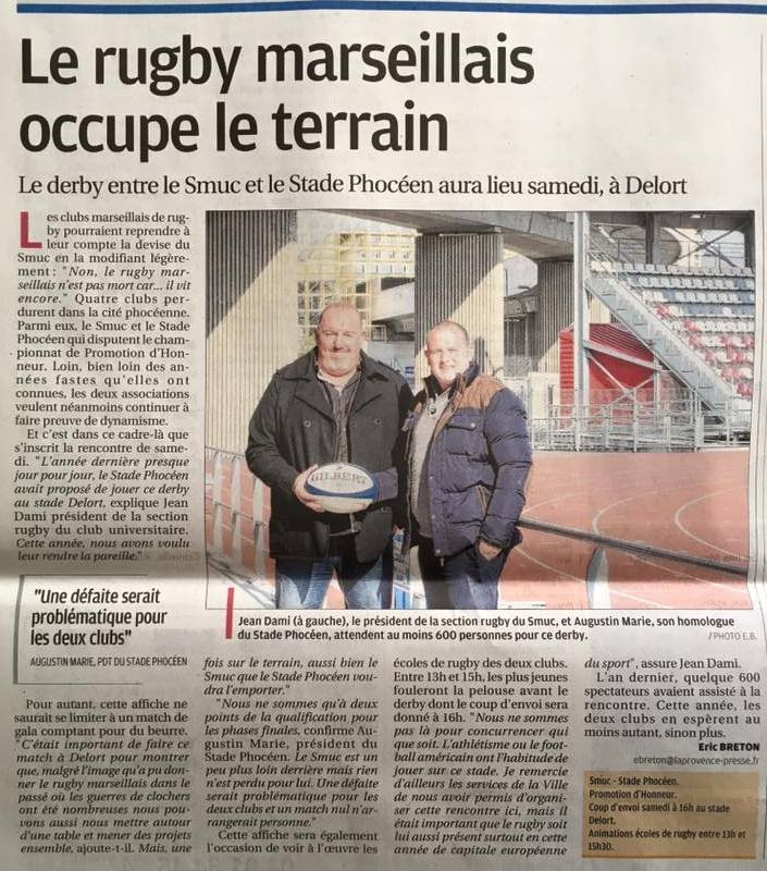 La Provence - RC Stade Phoceen
