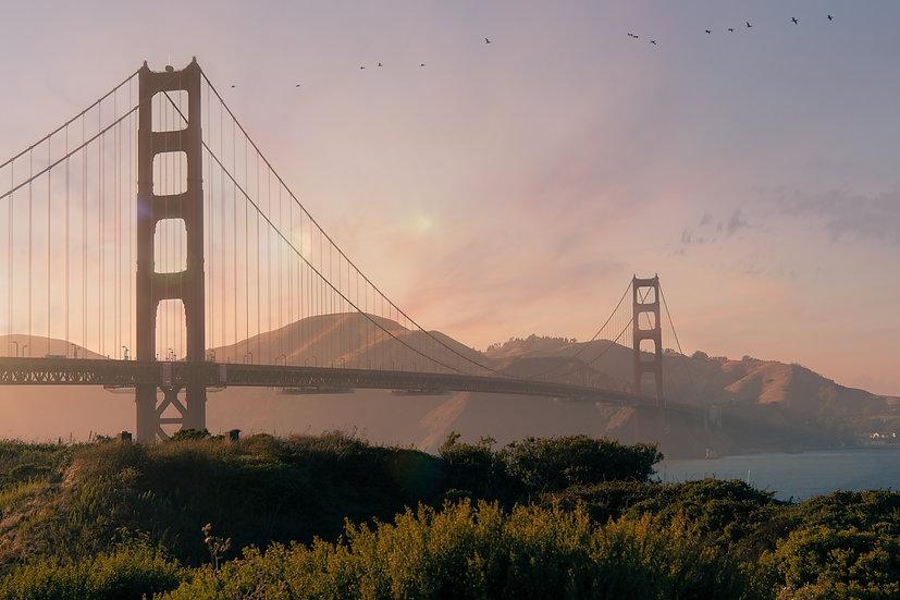 The Golden Gate Bridge (San Francisco)