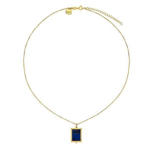 Josephine Lapis Necklace