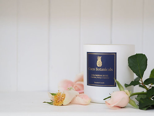 Colombian Rose - Luxe Scented Candle
