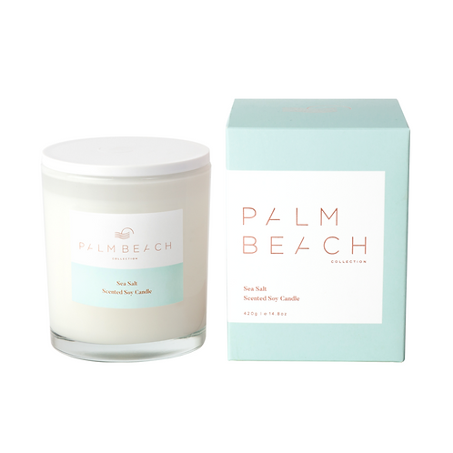 Palm Beach sea salt standard candle