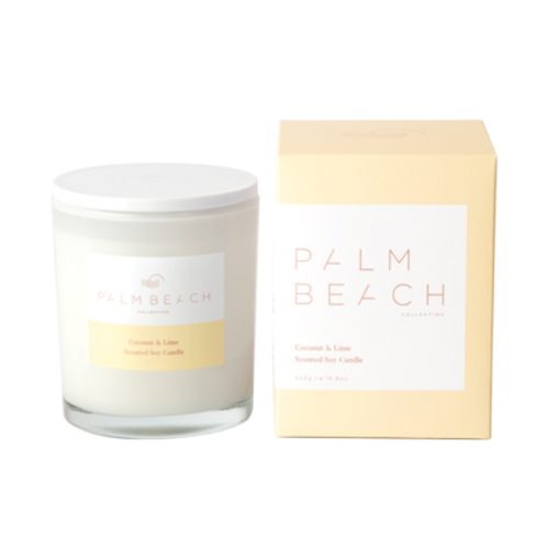 Palm Beach coconut & lime standard candle