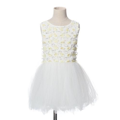 Flower Garden- White / Yellow