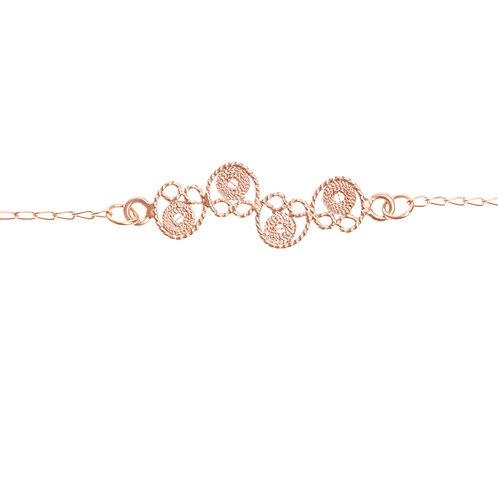 Amarillo Rose Gold Bracelet