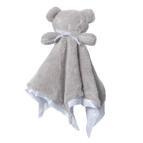 Britt Bear - Snuggles Cozy Comforter- Misty Grey