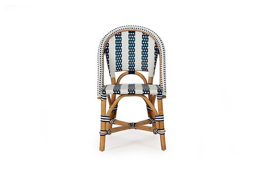 Sorrento Kids Chair – Navy Striped