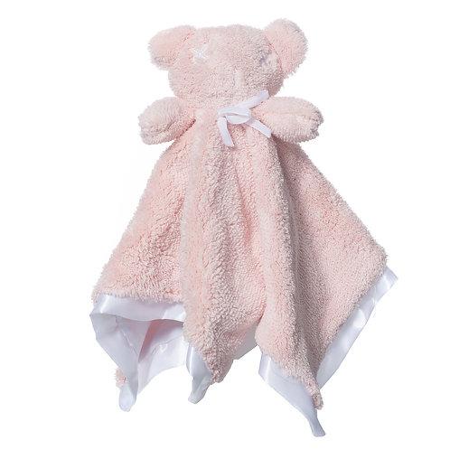 Britt Bear - Snuggles Cozy Comforter - Pale Pink
