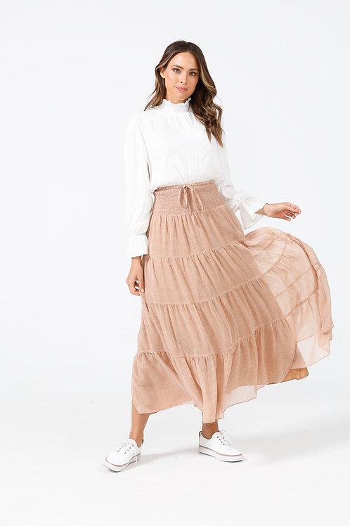 Greer Skirt in Armadillo