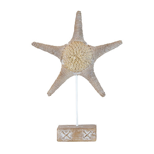 ST BART RESIN CLACKWASH STAR FISH
