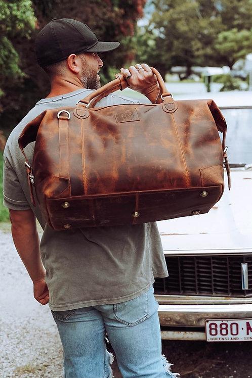 Leather Collingwood Traveler Bag