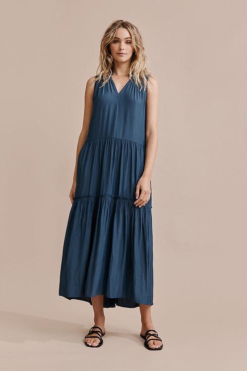 Layer'd VARATA DRESS - Ink Blue