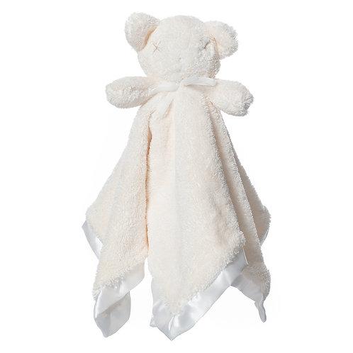 Britt Bear - Snuggles Cozy Comforter - Milky White
