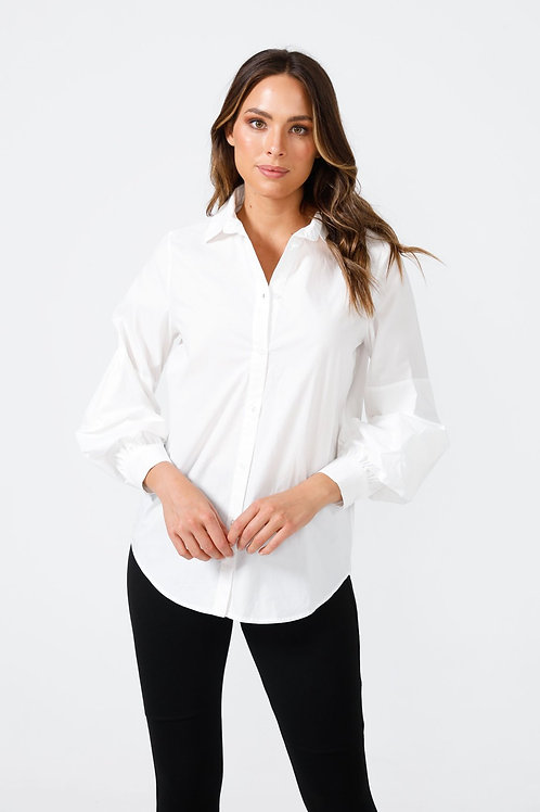 The Major Shirt White