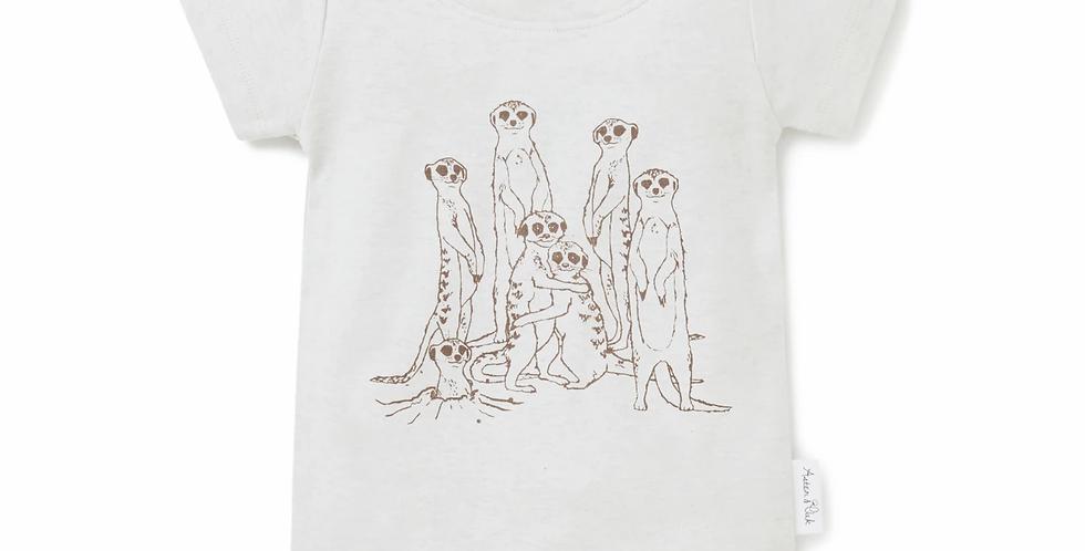 Meerkat Fam Print Tee