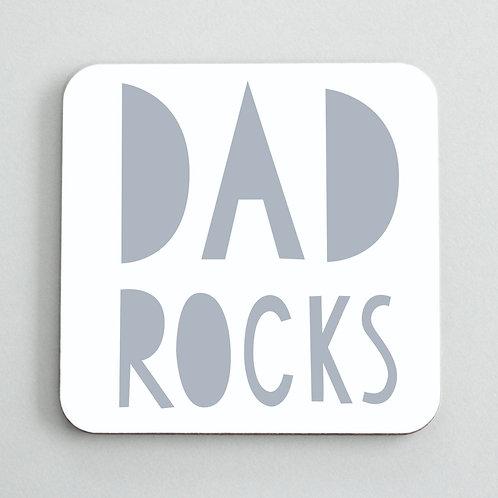 Dad Rock Coaster