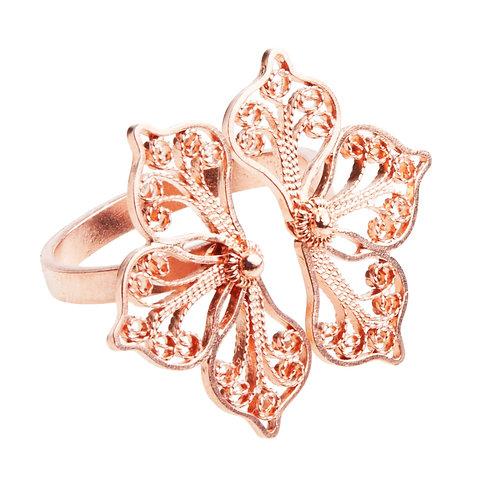 Malva Rose Gold Ring