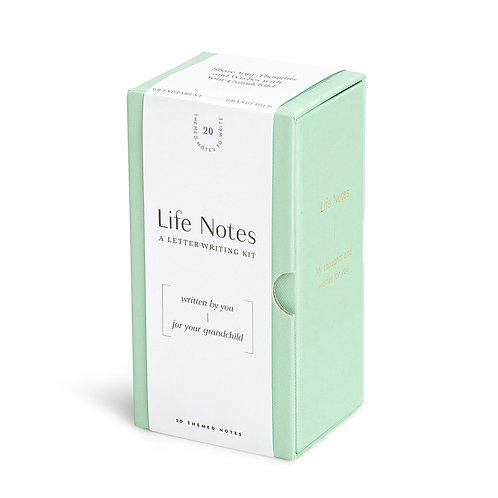 LIFE NOTES – GRANDCHILD – A LETTER-WRITING KIT BY YOU FOR YOUR GRANDCHILD