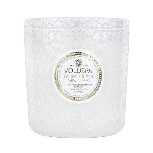 VOLUSPA Moroccan Mint Tea 3 Wick Luxe Candle