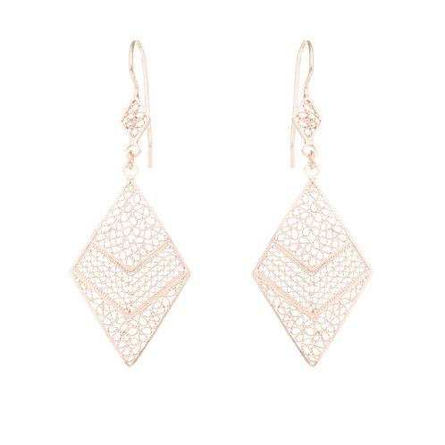 Cardenillo Rose Gold Earrings