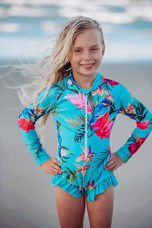 Kingfisher Cove Girls Swimsuit
