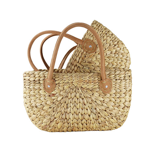 HARVEST BAGS-SUEDE HANDLE - SMALL