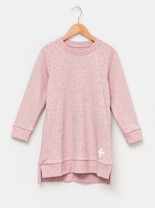 Stella & Gemma - Mini Sasha Sweater Dress in Pink