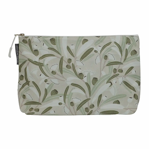 Cosmetic Bag – Large – Gumnuts Sage